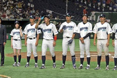都市対抗野球大会 日本製紙石巻 4年ぶりの初戦突破ならず ホンダ熊本に敗戦